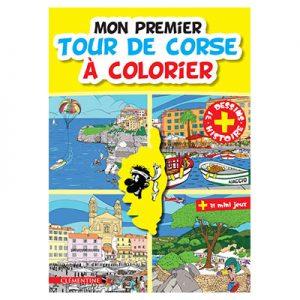 Mon premier Tour de Corse à colorier recto